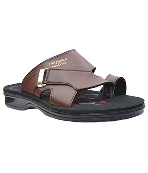 Win Heels Tan Slippers 2014 for sale discounts cheap online ykwDn5Pdqk