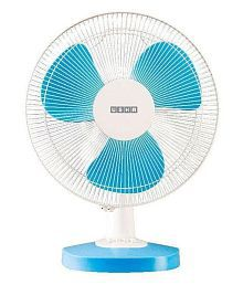 USHA SHRIRAM 16 Inches Usha Mist Air Duos Table Fan White-Blue