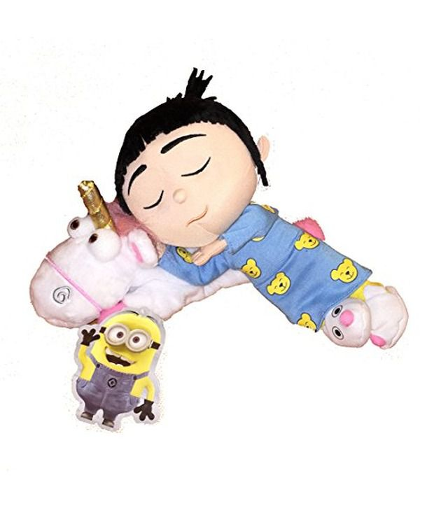 minion despicable me sleeping agnes with unicorn