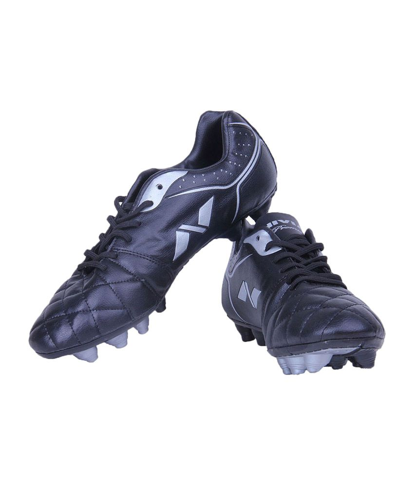 537731f2b728 Nivia Premier Range Football Studs - Black - Buy Nivia Premier Range  Football Studs - Black Online at Best Prices in India on Snapdeal