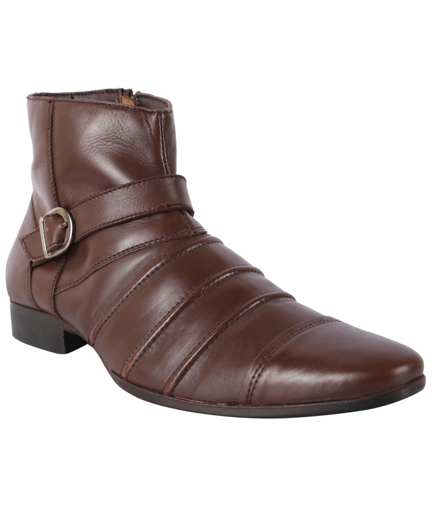 30S Impex Brown Boots