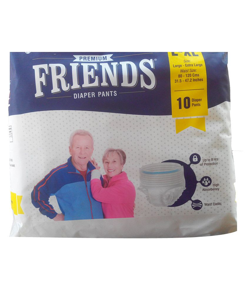 Friends Pull Ups Large and Extra Large (Pack of 30)