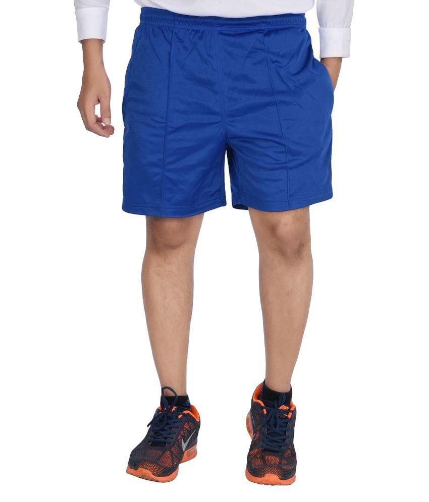 Attitude Blue Shorts