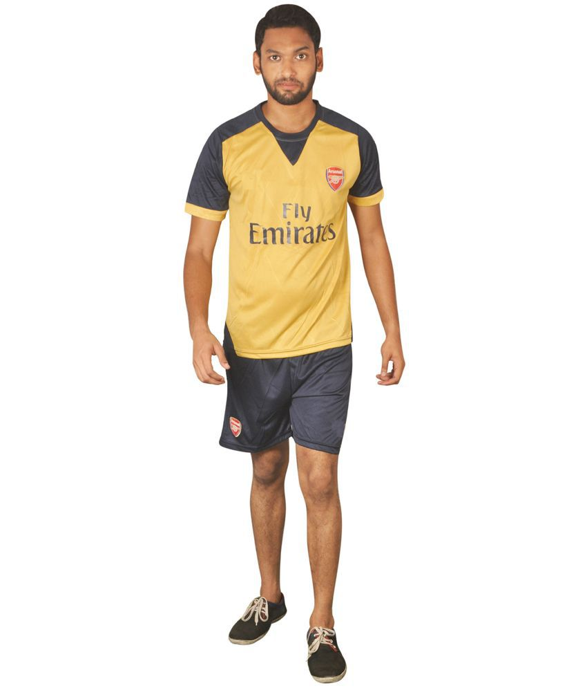 Trend Bae Arsenal Away Football Jersey Set