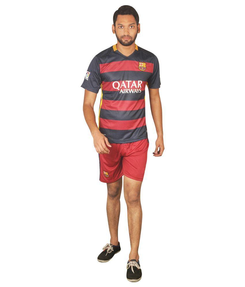 Trend Bae Barcelona Home Football Jersey Set