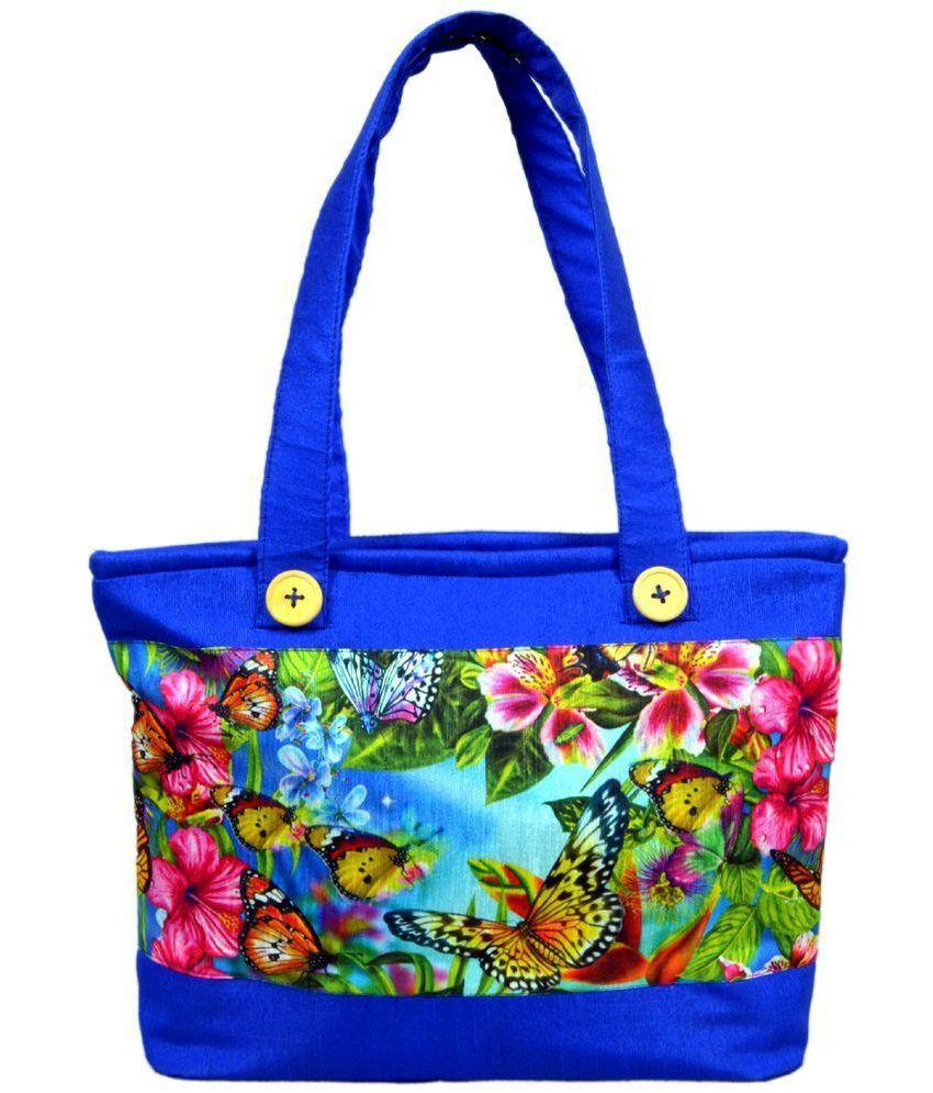 Angelfish Blue Fabric Handheld