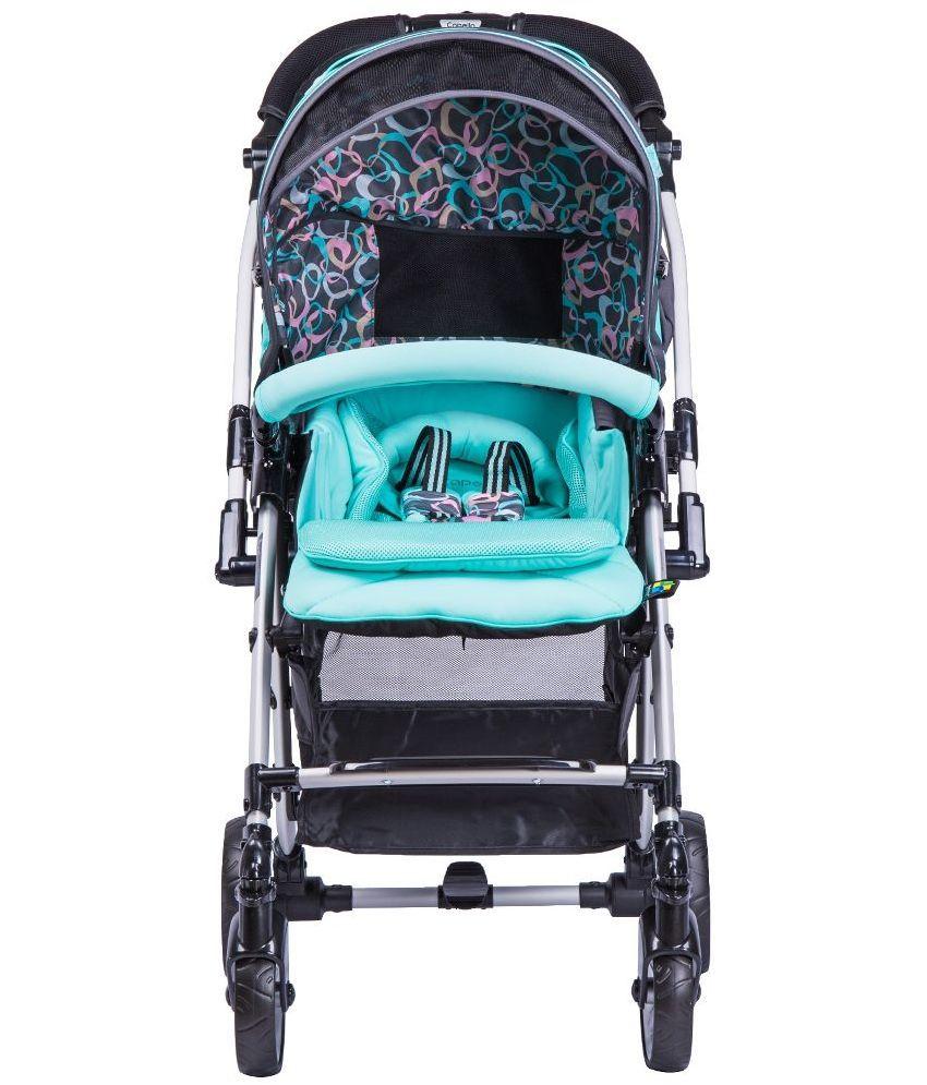 Baby Center India Capella Black Baby Stroller - Buy Baby ...