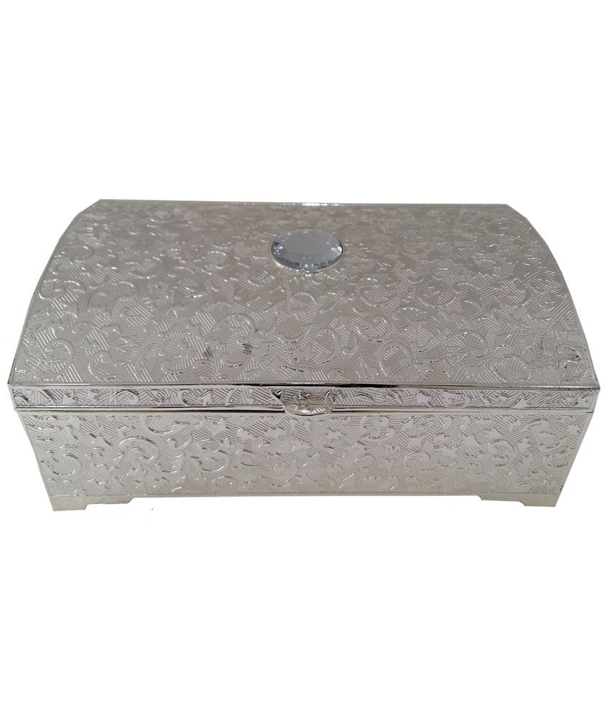 Forever16 Silver Plated Jewellery Box