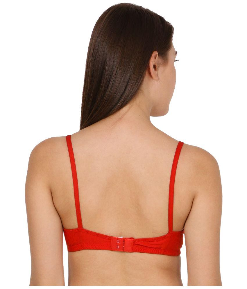 98a9d7df6 Buy Modish Vogue Red Net Bra Online at Best Prices in India - Snapdeal