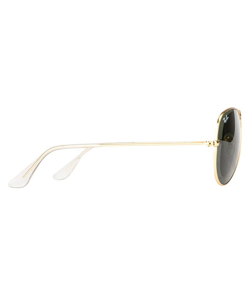 ray ban aviator sunglasses price  Ray-Ban Green Aviator Sunglasses (RB3025-0015 55-14) - Buy Ray-Ban ...