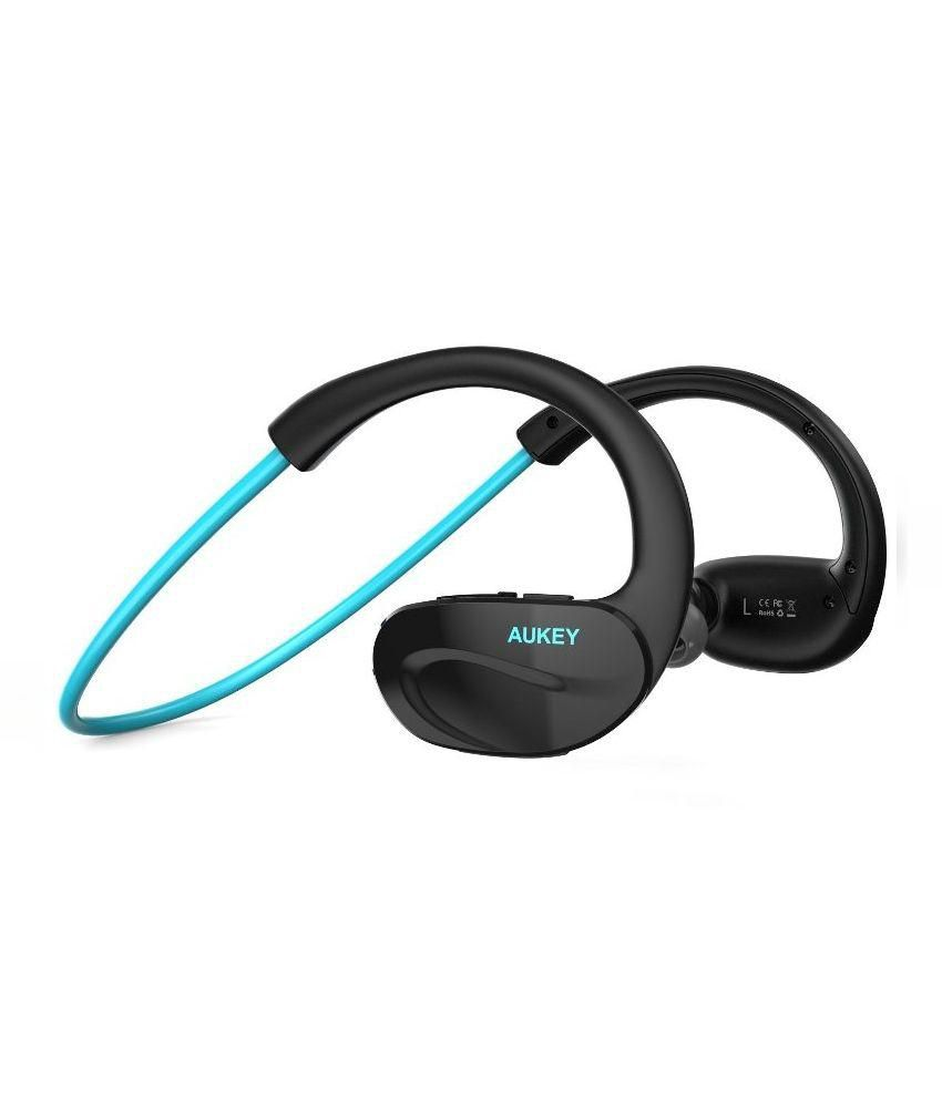 47d95e23a35 Aukey ep-b13 Bluetooth In Ear Headphone - Blue - Buy Aukey ep-b13 Bluetooth  In Ear Headphone - Blue Online at Best Prices in India on Snapdeal