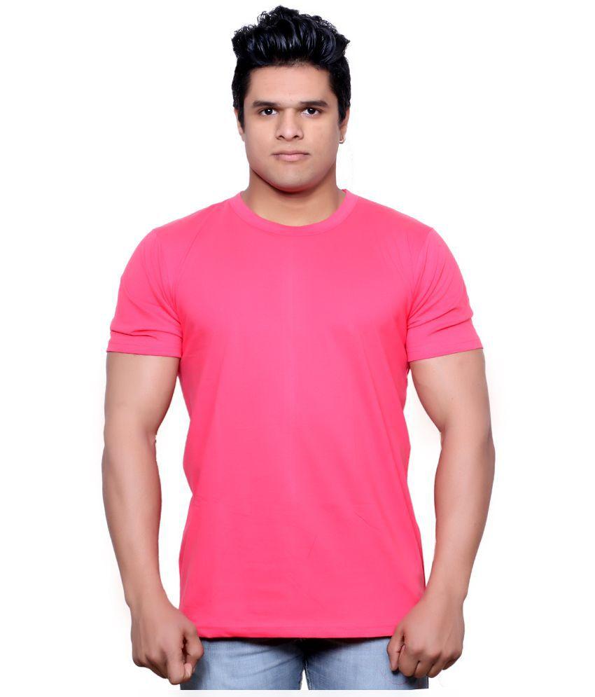Indiweaves Pink Round T Shirt