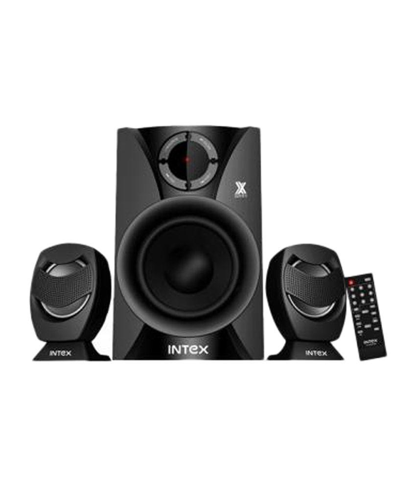 Intex IT- 2250 FMU 2.1 Speakers - Black