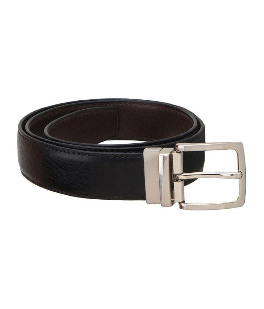 Kailasa Black Formal Belt for Men