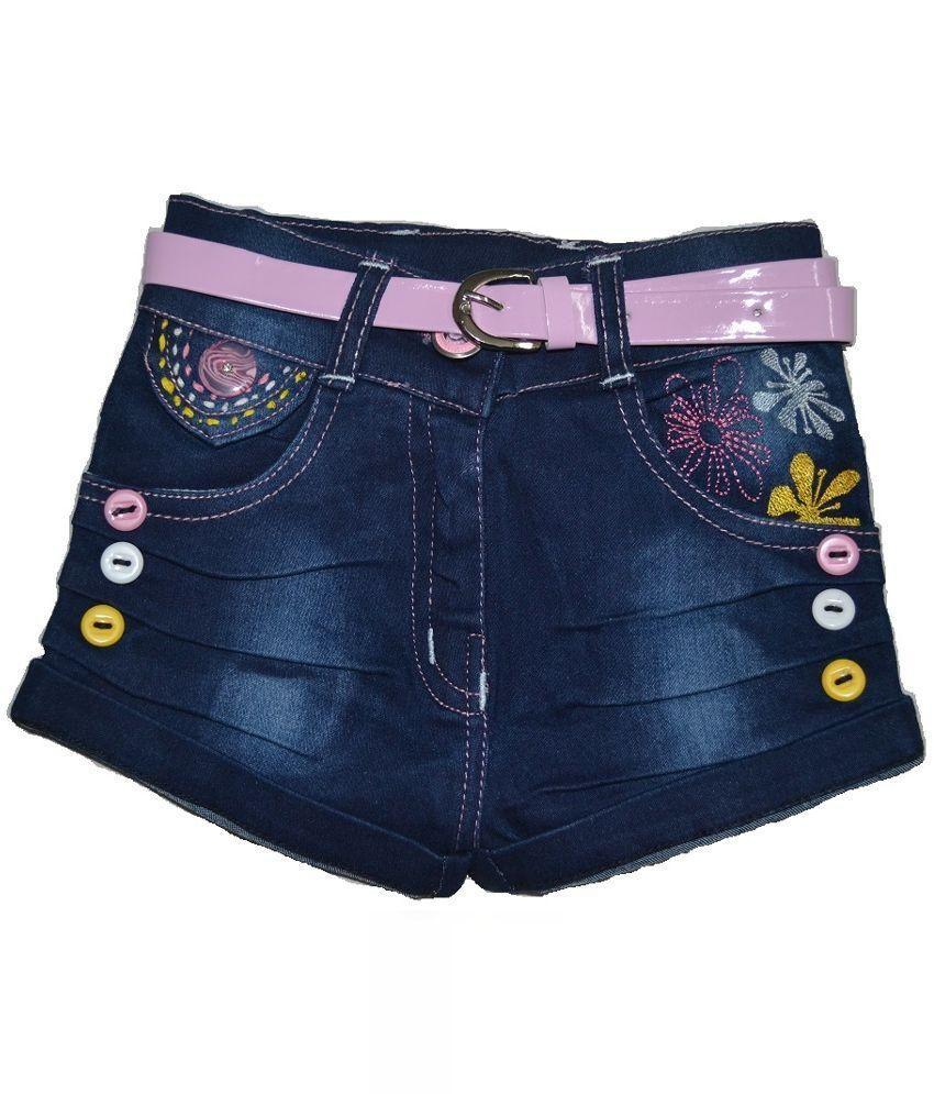 Minar Girl Denim Shorts