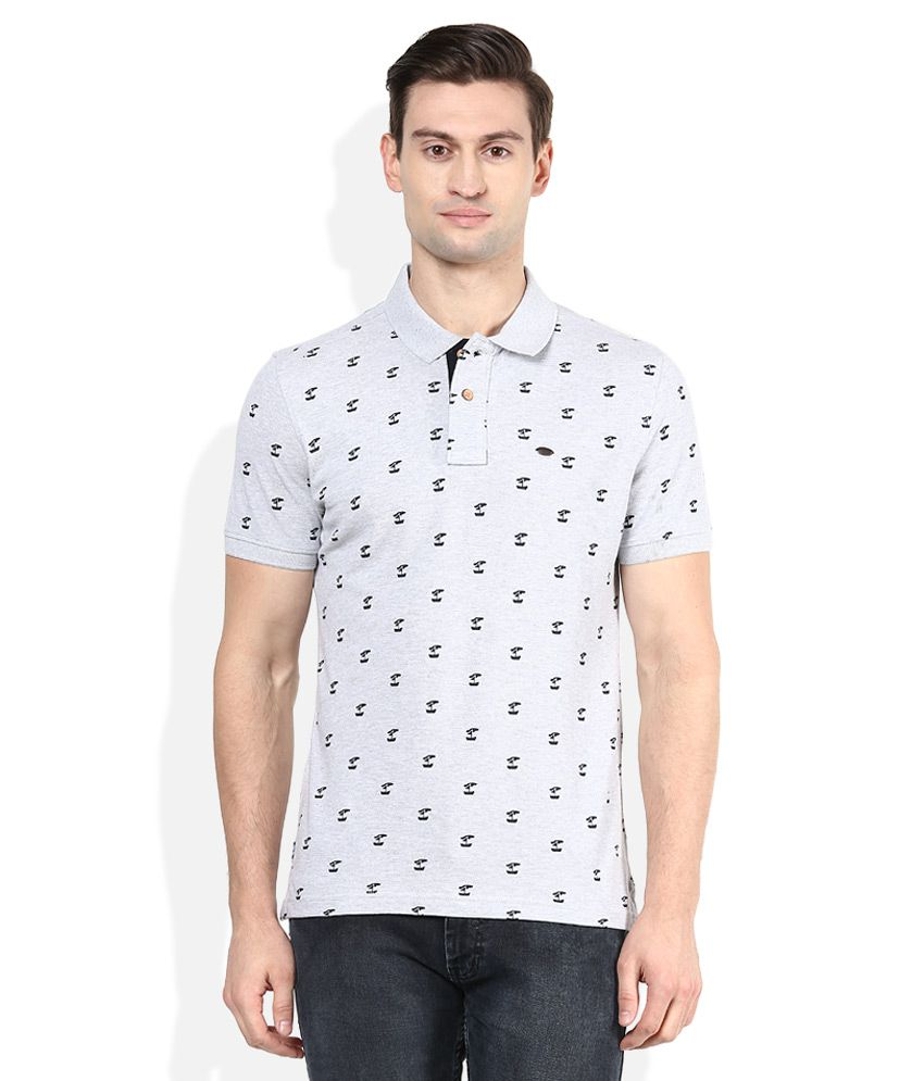 4d02b9d9 Numero Uno Grey Printed Polo T-Shirt - Buy Numero Uno Grey Printed Polo T-Shirt  Online at Low Price - Snapdeal.com
