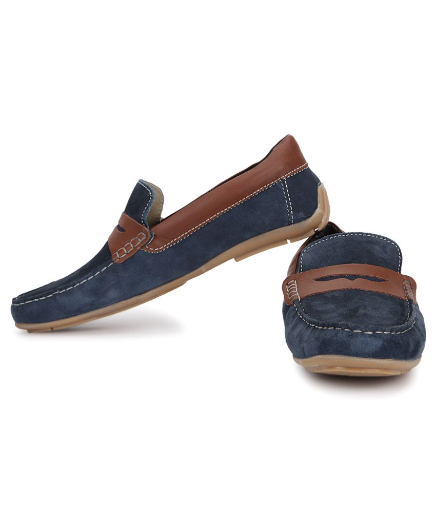U.S. Polo Assn. Navy Slip-On Loafers