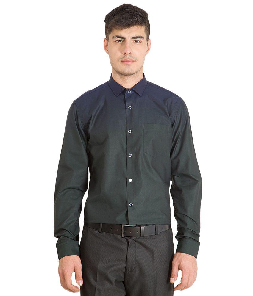 Black Coffee Navy Slim Fit Shirt Buy Black Coffee Navy