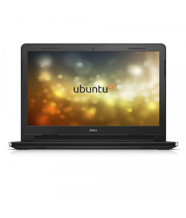 Dell Inspiron 3451 Notebook (X560233IN9) (Intel Pentium- 4GB RAM- 500GB- 35.56 cm (14)- Ubuntu/Linux) (Black)