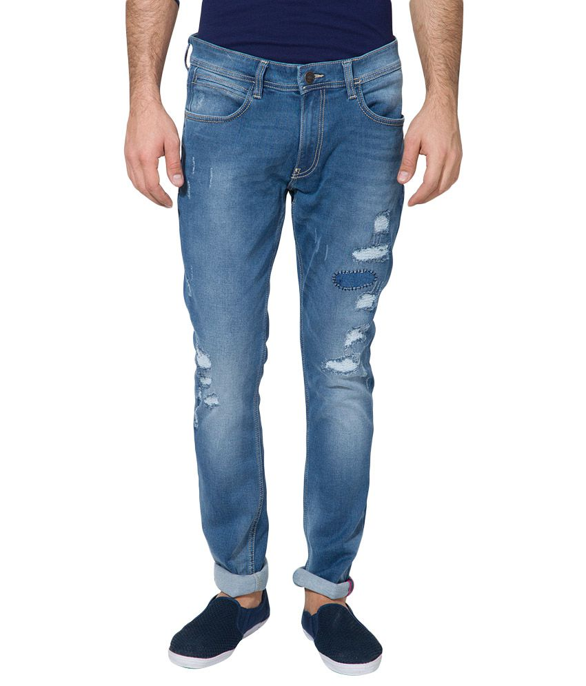 Locomotive Blue Slim Solid