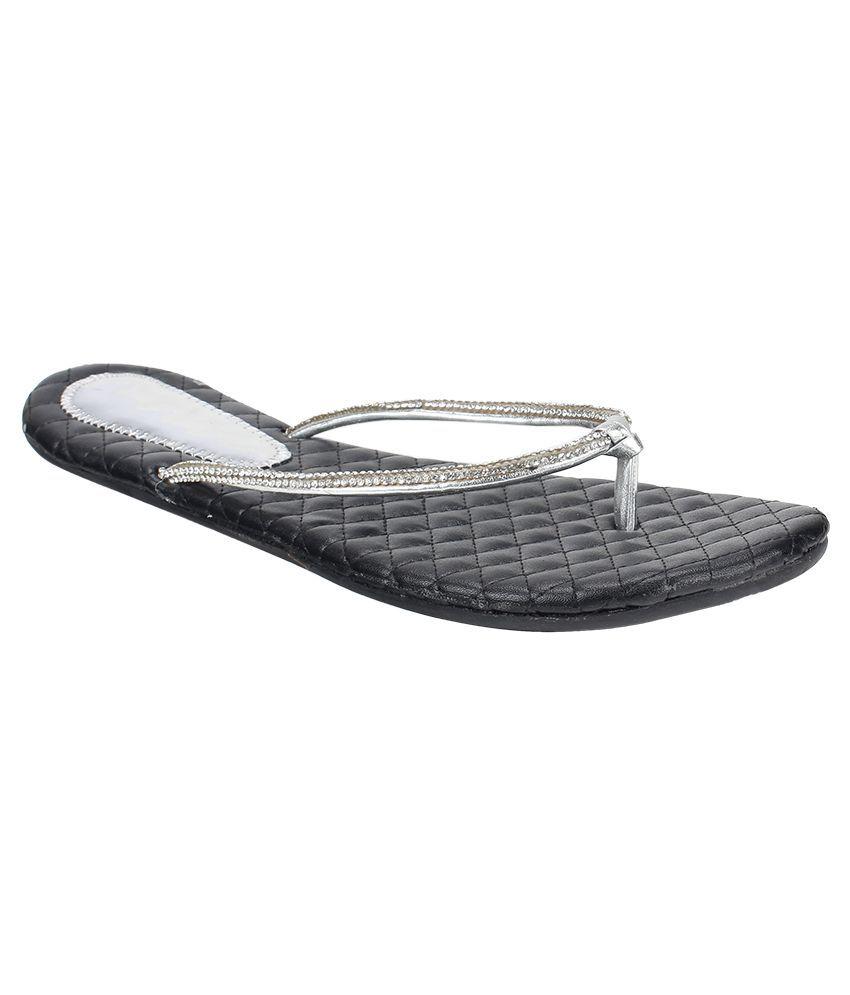 ROYAL INDIAN EXPOSURES Black Slippers