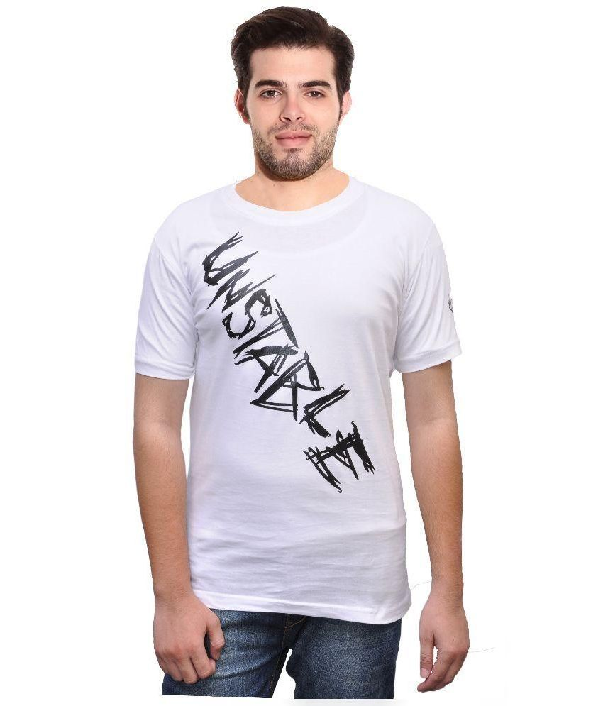 Rangifer White Round T Shirt