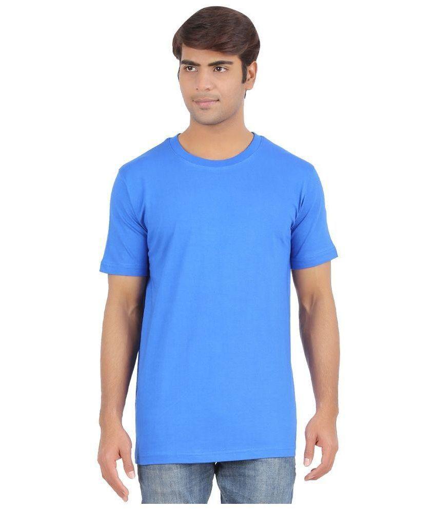 Sri Boga Tex Blue Round T Shirt