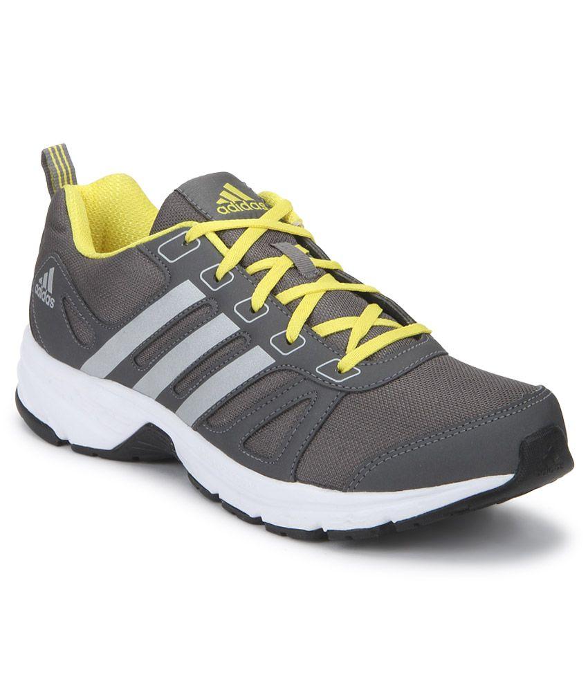 premium selection e0318 f66be Adidas Adi Primo 1.0 Gray Sports Shoes ...