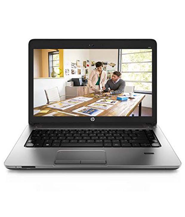 HP Probook K3R10AV Notebook Core i5 (5th Generation) 4 GB 35.56cm(14) DOS 2 GB Black