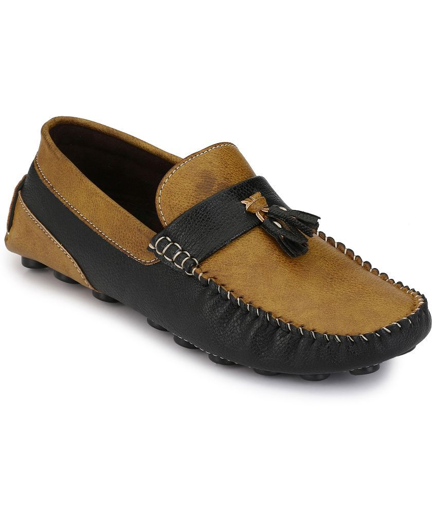 Multi Colored Loafers