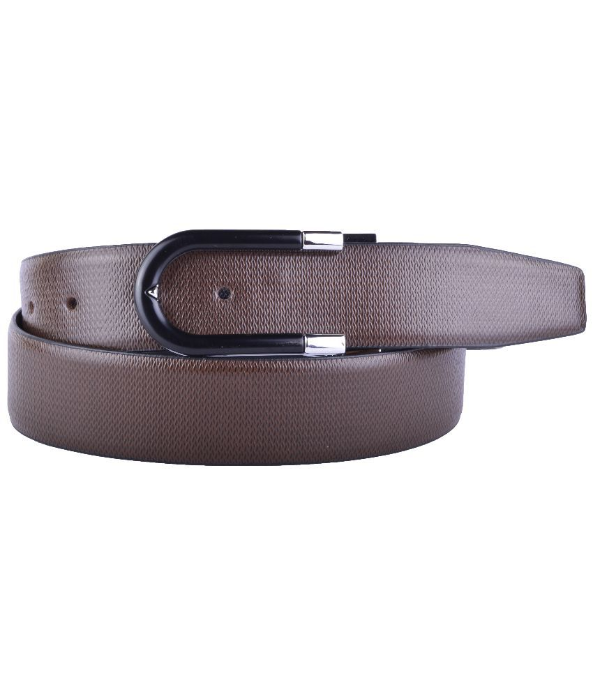 Callesto Brown Leather Belt