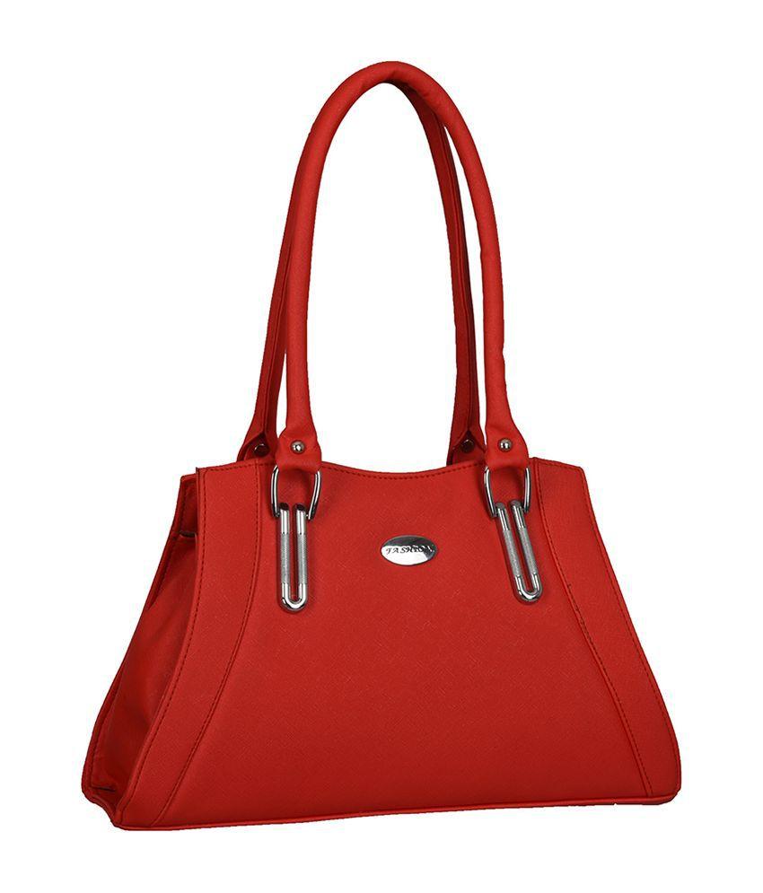 Fantosy Red Synthetic Shoulder Bag