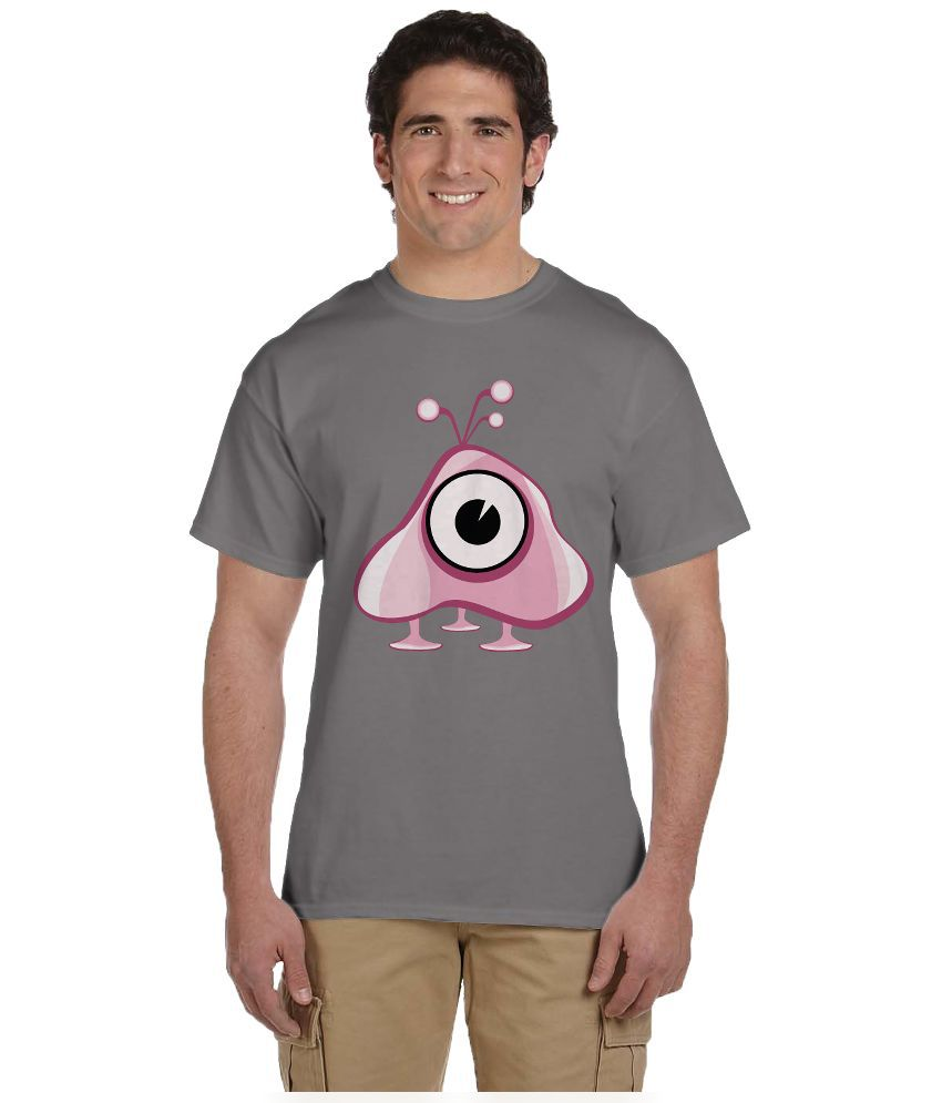 Haunting Dragons Grey Round T Shirt