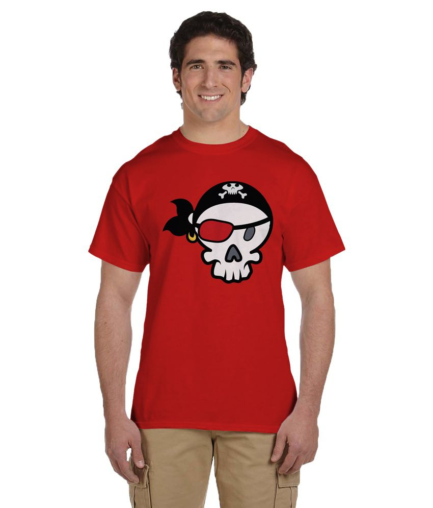 Haunting Dragons Red Round T Shirt