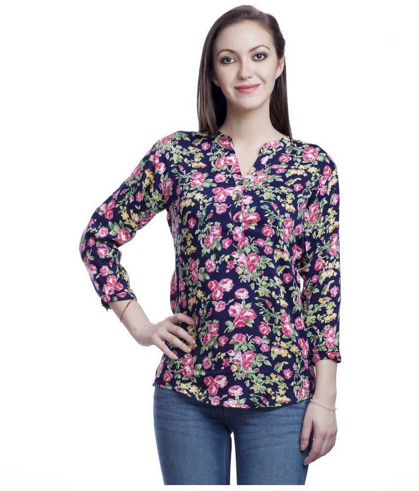 2a6e9a103a3d8b Styland Multi Georgette Tops - Buy Styland Multi Georgette Tops Online at Best  Prices in India on Snapdeal