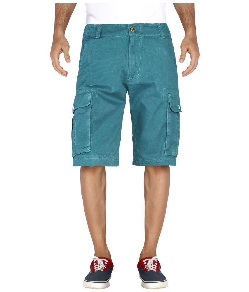 London Bee Turquoise Shorts