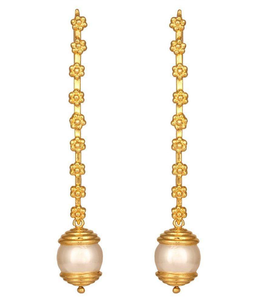 Mirror White 92.5 Sterling Silver Hoop Earrings