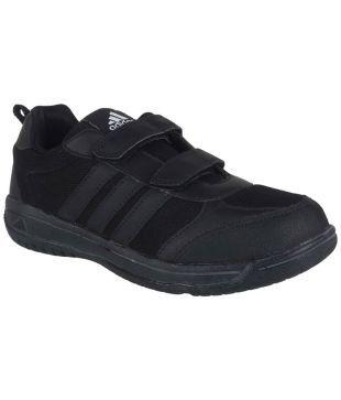 adidas school shoes black