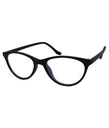 Eye Glass Black Cateye Spectacle Frame