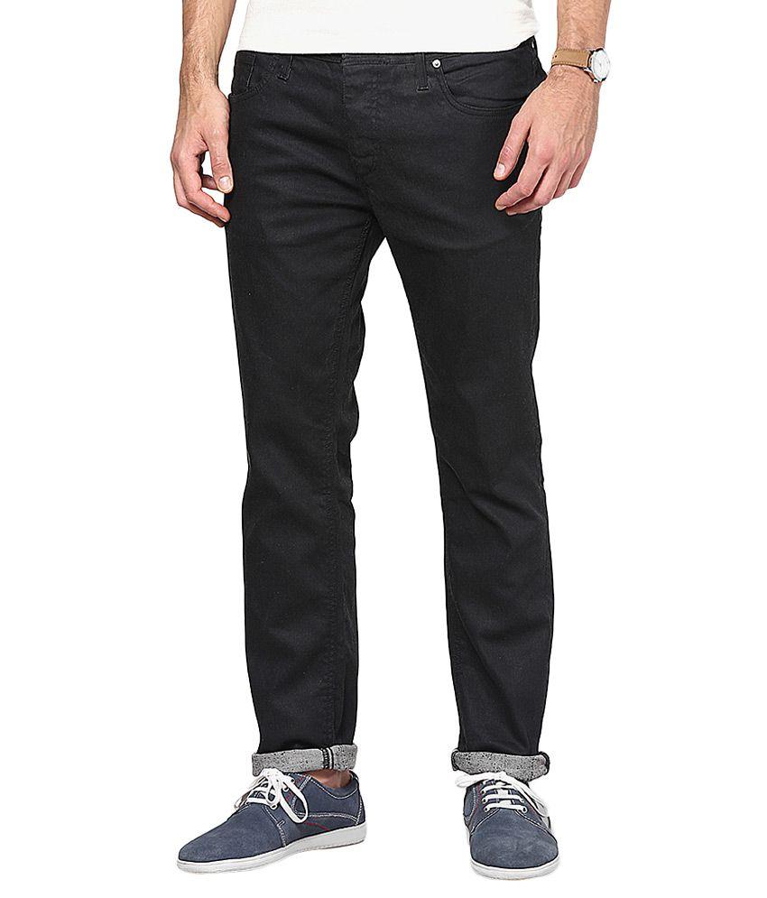 Jack & Jones Black Slim Fit Fit Jeans