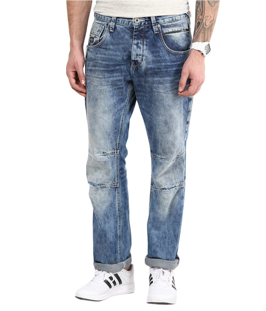 Jack & Jones Blue Loose Fit Jeans