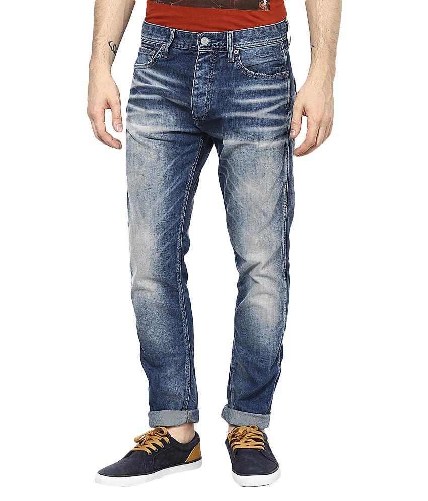 Jack & Jones Blue Anti Fit Jeans
