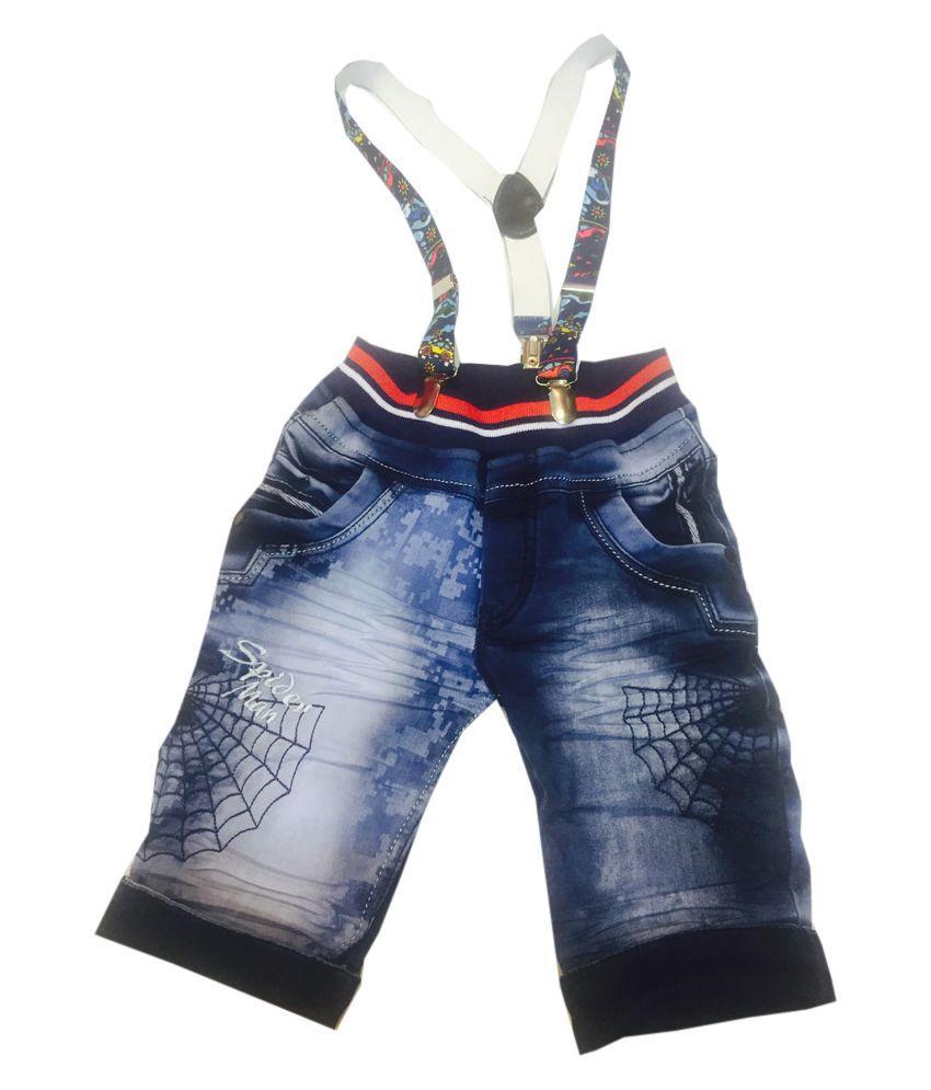 59dc0a665 Kids Wear Blue denim Dungarees suit for Boys - Buy Kids Wear Blue ...