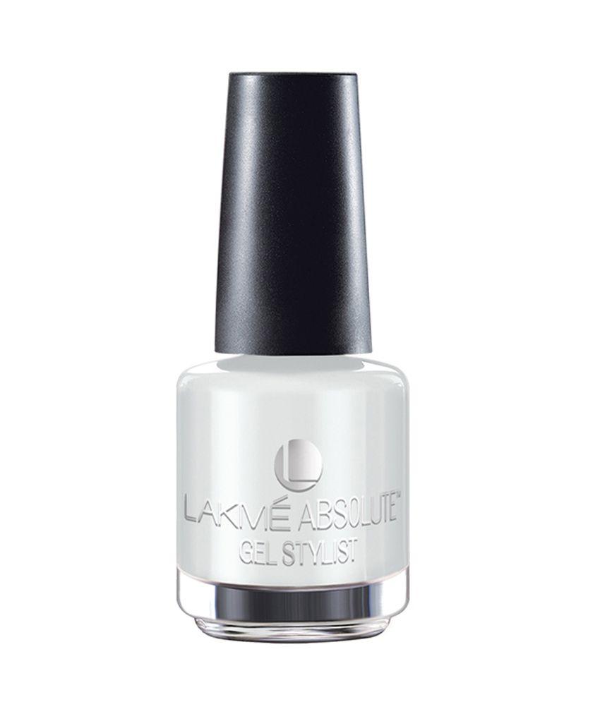 Gel Nail Polish Lakme: Lakme Absolute Gel Stylist Nail Paint 15 Ml: Buy Lakme