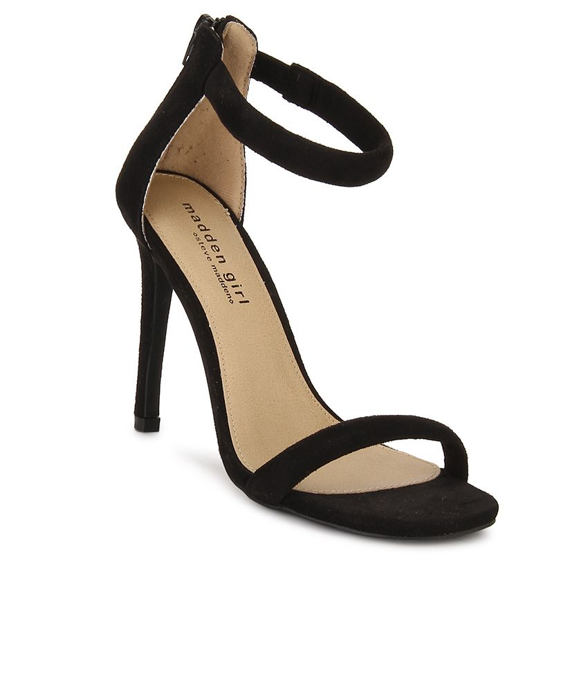 Steve Madden Friendly Black Stiletto Heels ...