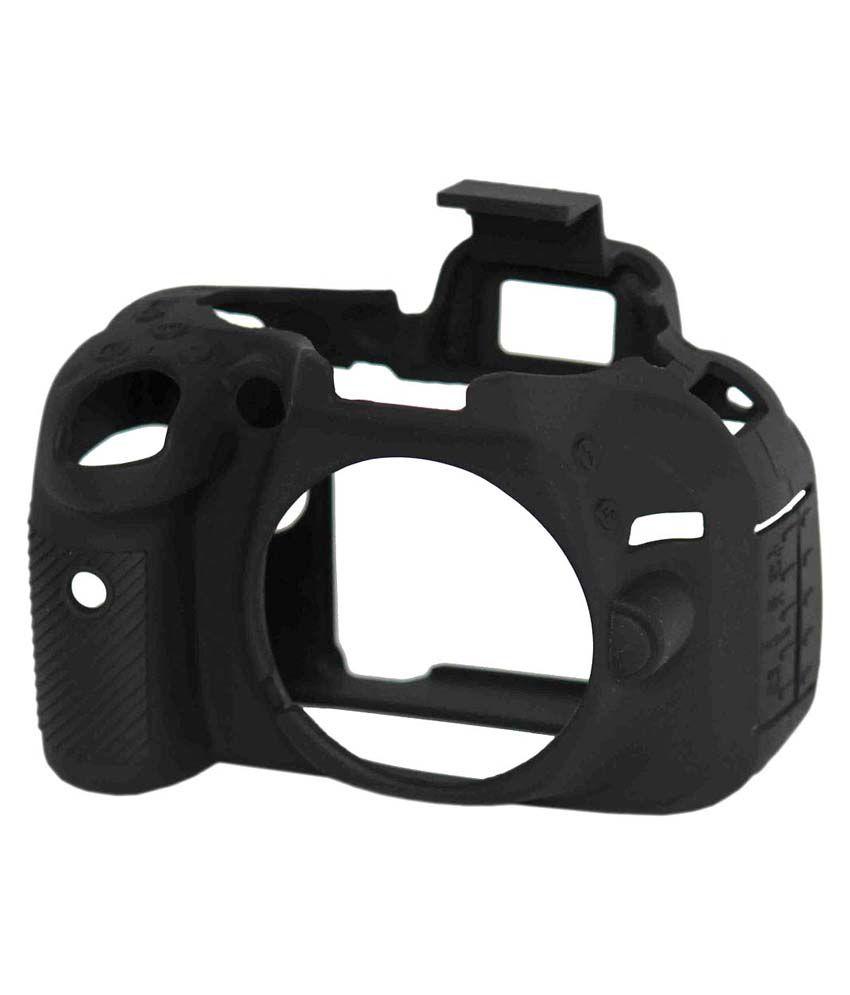 Axcess Silicon Camera Case for Nikon D5200 - Black
