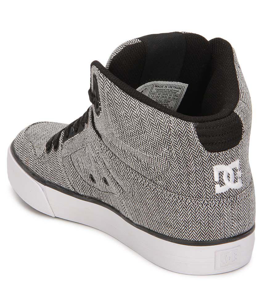 3b0a892107 DC Spartan Gray Smart Casuals Casual Shoes - Buy DC Spartan Gray ...