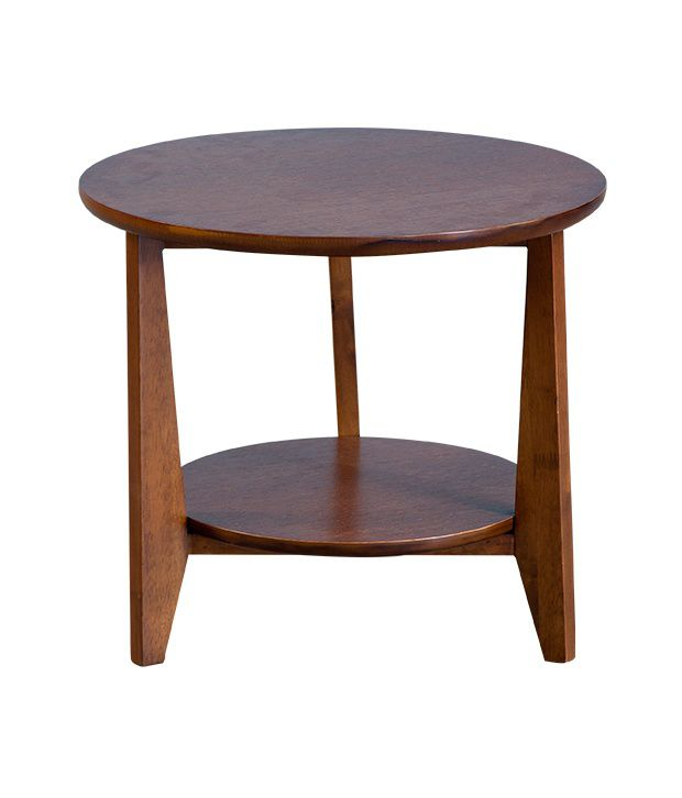 Forzza Kenko Solid Wood Side Table