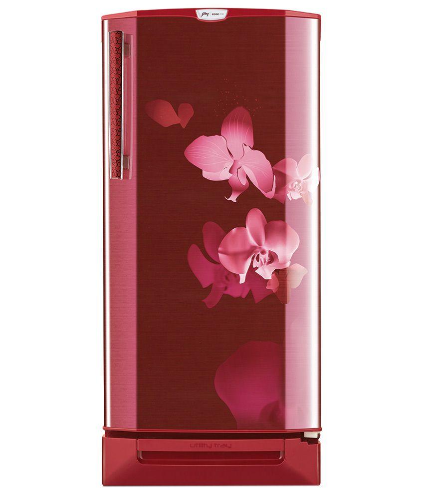 Godrej 240 L RD EDGEPRO 240PDS 5.2 Direct Cool Single Door  RefrigeratorRed