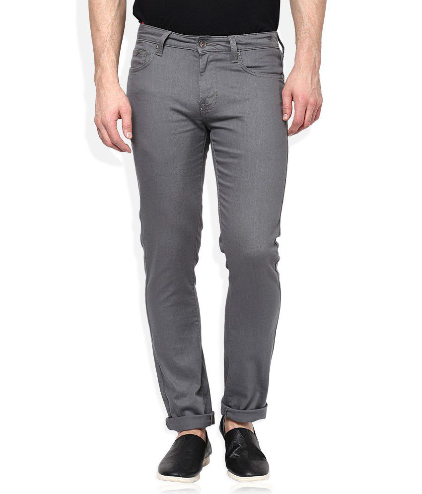 United Colors of Benetton Grey Skinny Fit Jeans